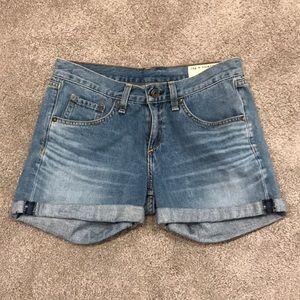Rag and bone boyfriend Jean shorts